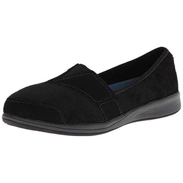 Easy Spirit Womens Fadeaway Loafers Mixed Media Casual