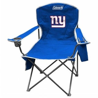 Coleman 2771078111 NFL XL Cooler Quad Chair - New York Giants