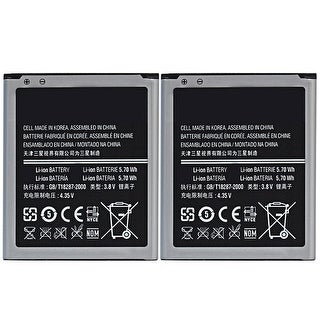 New Replacement Battery For SAMSUNG GALAXY S3 Mini AT&T Phone Model ( 2 Pack )