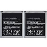 New Replacement Battery For SAMSUNG GALAXY S3 Mini Phone Model ( 2 Pack )