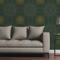 Removable Wallpaper Tile - Ornate Stars - Multi-color