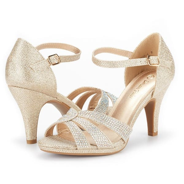Details about  /DREAM PAIRS Women/'s Fiona Fashion Stilettos Open Toe Pump Heeled Sandals