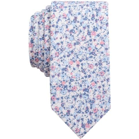 bar III Mens Dandy Self-tied Necktie, blue, One Size - One Size