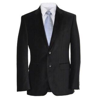 Hugo Boss James Dark Grey Corduroy Two Button Sportcoat 38 Regular 38R