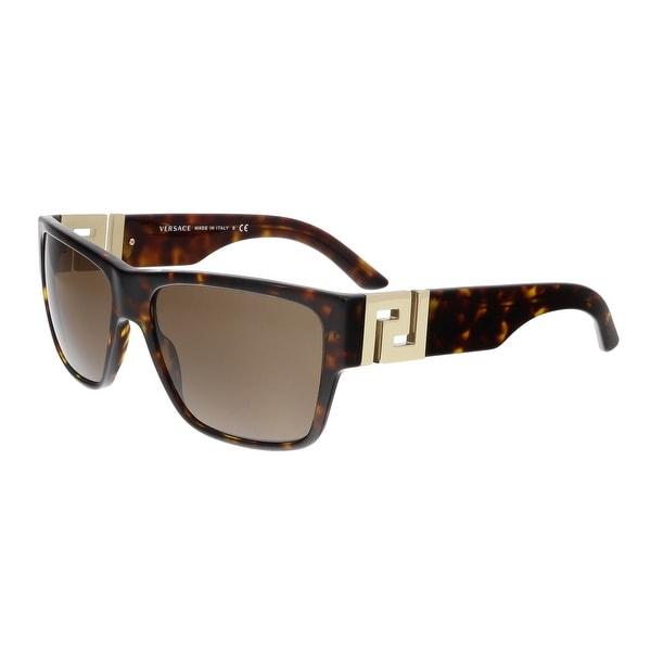 Versace VE4296 108/73 Havana Rectangle Sunglasses