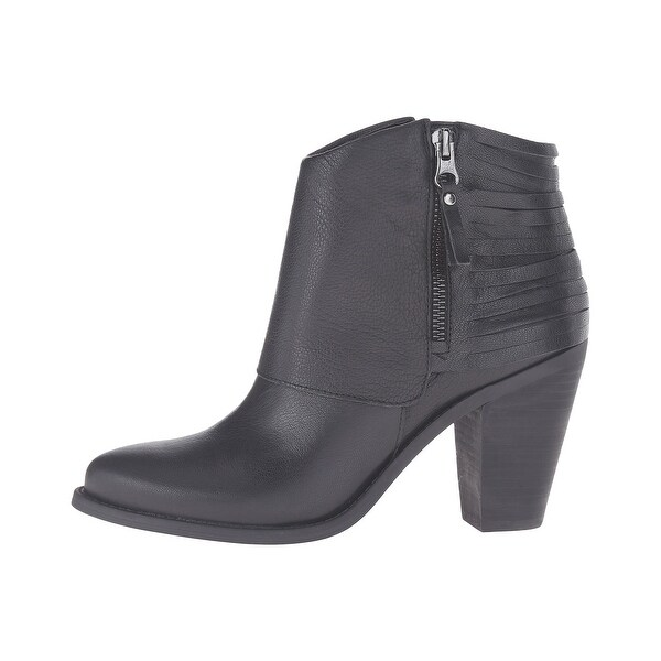 Jessica Simpson Womens Cerrina Leather Closed Toe Ankle Fashion Boots