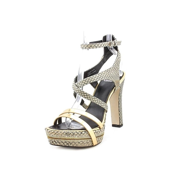 DMSX Donald J Pliner Tyler Platform Sandals - 7.5