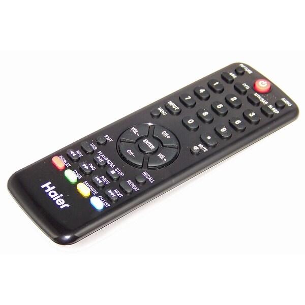 OEM Haier Remote Control Originally Shipped With HL19K1A, HL40XP1, L55B2181A