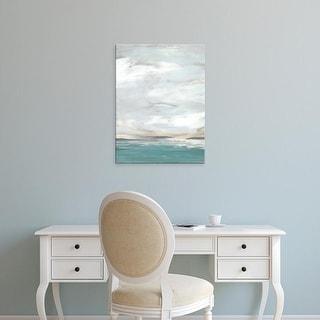 Easy Art Prints June Erica Vess's 'Seafoam Vista II' Premium Canvas Art
