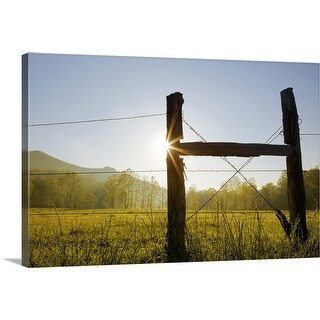 """""""Cades Cove, Great Smoky Mountains National Park"""" Canvas Wall Art"""