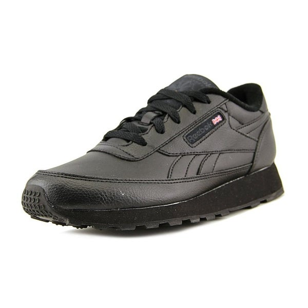 339b58798c64 Shop Reebok Classic Renaissance Women Round Toe Leather Black ...