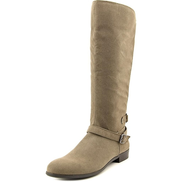 Style & Co Faee Women Round Toe Synthetic Gray Knee High Boot