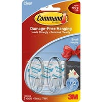 3M Command Clear Small Hook
