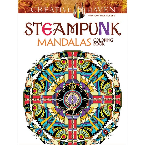 Dover Publications-Creative Haven: Steampunk Mandalas