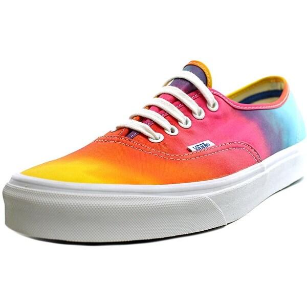 6f6d89bd10 Shop Vans Authentic Women Round Toe Canvas Multi Color Sneakers ...