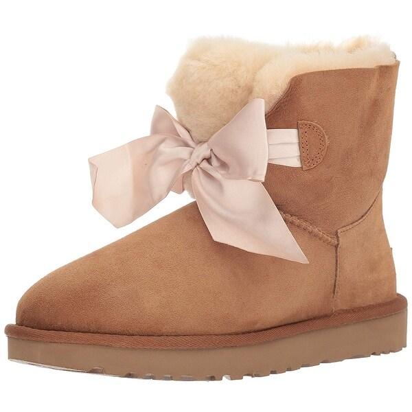 bbcb3b4ea9d Shop UGG Women's W Gita Bow Mini Fashion Boot - Free Shipping Today ...