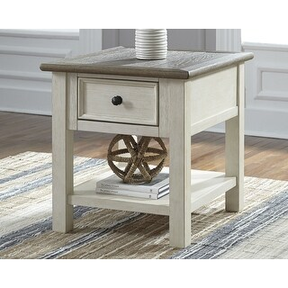 Link to Bolanburg Antique White/Brown Casual End Table Similar Items in Living Room Furniture