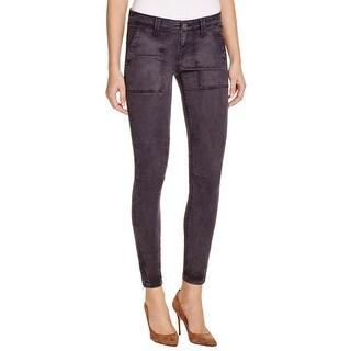 Joie Womens Cadet Skinny Jeans Ankle Zip Denim