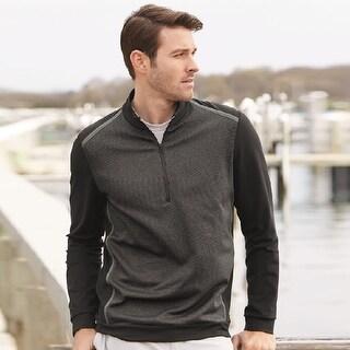 Adidas - Golf Quarter-Zip Birdseye Fleece Pullover