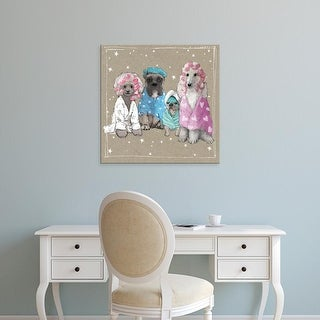 Easy Art Prints Hammond Gower's 'Fancypants Wacky Dogs I' Premium Canvas Art