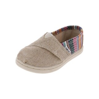 Toms Girls Classic Casual Shoes Embroidered Slip On - 8 medium (b,m) toddler