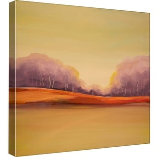 """PTM Images 9-99549  PTM Canvas Collection 12"""" x 12"""" - """"Orange Valley"""" Giclee Forests Art Print on Canvas"""