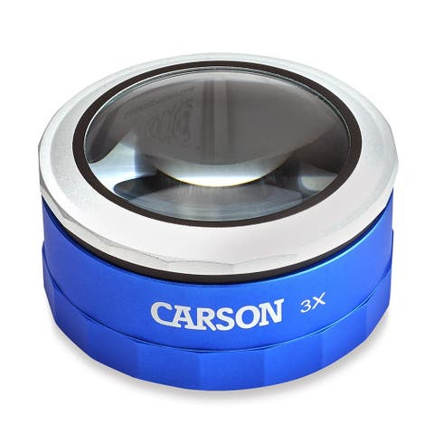 Carson 3x Touch Activated LED Lighted Loupe