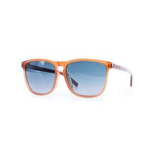 Saint Laurent Womens SL27F Brown Tinted Lense Squared Sunglasses