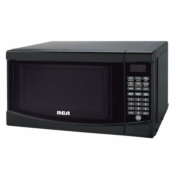 Rca Rmw733 Black Microwave Oven 0