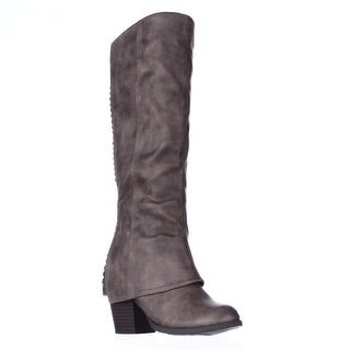 Fergalicious Lundry Back Stitch Hidden Heel Western Boots, Sand