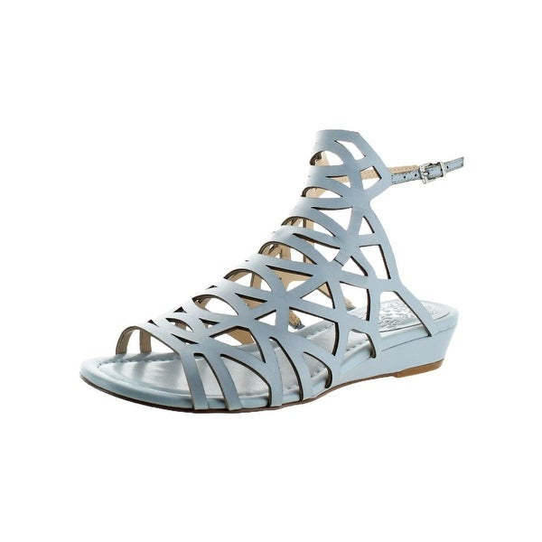 Vince Camuto Womens Illana Wedge Sandals Strappy Slingback