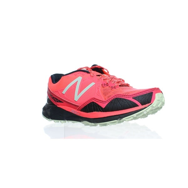 17ce331e3cb43 New Balance Womens Wt910v3 Trail Shoe-W Pink/Grey Running Shoes Size 5.5 (