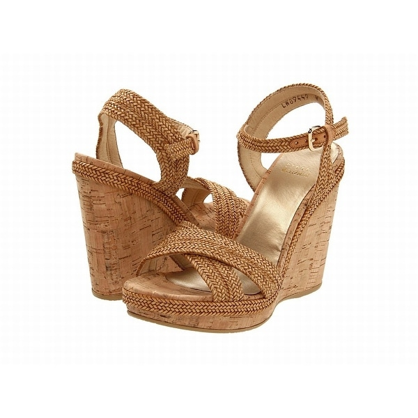 Stuart Weitzman NEW Brown Shoes 10.5M Platforms & Wedges Heels