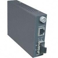 trendnet Q72814M TRENDnet Intelligent 1000Base-T to 1000Base-SX Multi-Mode SC Fiber Converter (550M, 1,800Ft) TFC-1000MSC