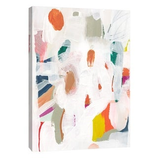 """PTM Images 9-108655  PTM Canvas Collection 10"""" x 8"""" - """"Candy-Scape 1"""" Giclee Abstract Art Print on Canvas"""