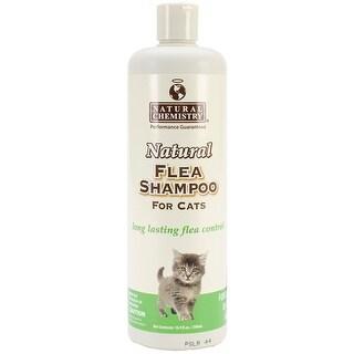 Natural Flea Shampoo For Cats 16.9Oz-