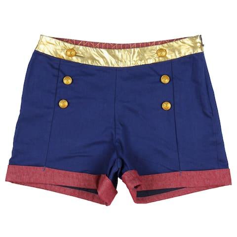 DC Comics Wonder Woman Junior's High Waisted Shorts