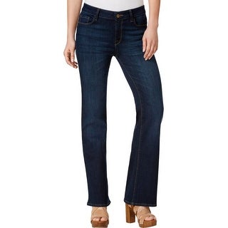 M1858 New York Womens Amy Boot Bootcut Jeans Boot Stretch