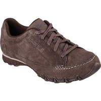 Skechers Women's Relaxed Fit Bikers Curbed Oxford Chocolate