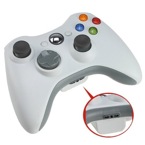 AGPtek New white Wireless Remote Controller for Microsoft Xbox 360