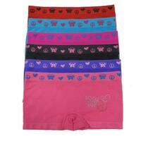 Girl's 6 Pack Butterfly RhineStones Matching Underwear Panties