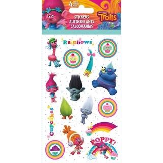 - Trolls Standard Stickers 4 Sheets
