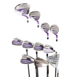 Tommy Armour Silver Scot Ladies Complete Set - Driver 3W 4H 5H 6-PW,SW + Putter