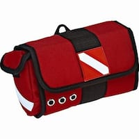 Innovative Scuba Dive Mask Bag Red