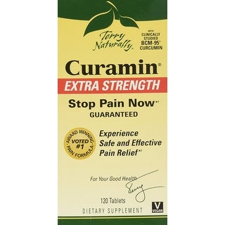 Terry Naturally Curamin Extra Strength Stop Pain Now - 120 Tablets - Clinically studied