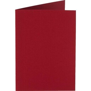 Christmas Red - Papicolor A6 Folded Cards 6/Pkg