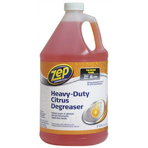 Zep Commercial ZUCIT128 Heavy-Duty Citrus Degreaser, 1 Gallon
