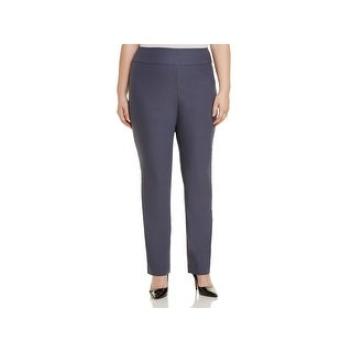 Nic + Zoe Womens Plus Wonderstretch Dress Pants High Rise Business