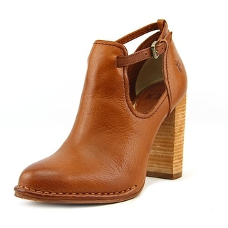 Frye Margaret Shootie Round Toe Leather Ankle Boot