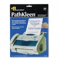 Read Right RR1237 PathKleen Printer Roller Cleaner Sheets  Pack of 10